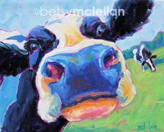 Hey, I found this really awesome Etsy listing at https://www.etsy.com/listing/94377860/cow-cow-art-cow-print-giclee-print
