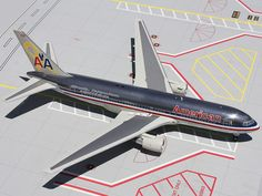 GeminiJets 1:200 American Airlines Boeing 767-200 Veterans Livery