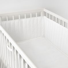 The soft padding prevents your child from bumping its head, arms or legs against the cot's hard spindles. It's made in one piece so it's easy to place in the cot, and the fasteners make sure it stays there. Cot Bumper, Nursery Furniture Sets, Pet Bottle, Recycled Bottles, Small Changes, Online Furniture, Cribs, New Baby Products, Toddler Bed