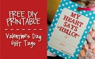 Hello, Good Gravy!: DIY Valentine's Day gift tags
