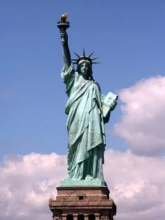 The Statue of Liberty in New York, USA