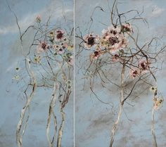 Claire Basler Paper Musings: Claire Basler Paintings