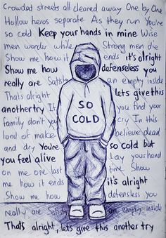 So Cold by Breaking Benjamin.  Found on Facebook.  Artist Unkown