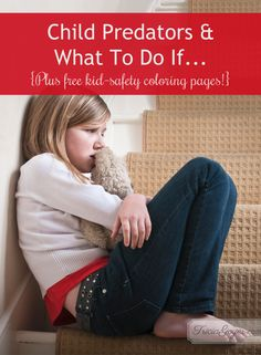 Kids Safety Kimberly Rae shares about the grooming habits of child predators and what to do it ... Stop by Tricia Goyer's blog to learn more