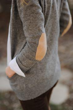 Long grey cardi