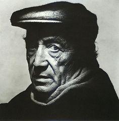 Isamu Noguchi, 1983 -by Irving Penn