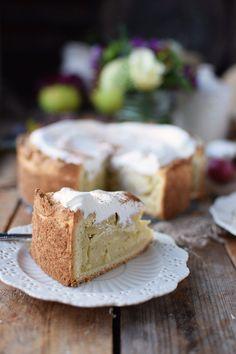 Apfelkuchen mit Zimtcreme - Apple Cake with Cinnamon   Das Knusperstübchen