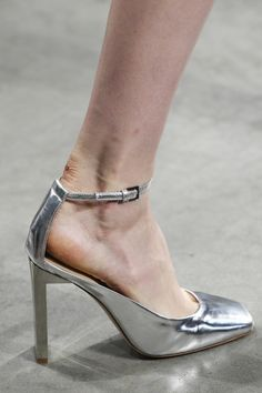 Reed Krakoff -awful blister and dry.skin on this girl's foot