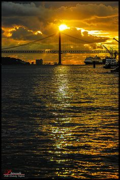 Lisbon Sunset, Portugal
