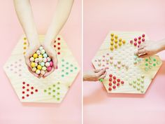 DIY Chinese Checkers Game | Lovely Indeed