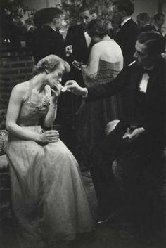 Couple au bal, c1954 (Marc Riboud)