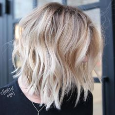 Messy Heavily Chopped Lob