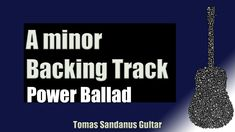 A minor Backing Track is my new guitar jam track, backtrack in Slow Atmospheric Rock Power Ballad Style. This A minor Backing Track Slow Atmospheric Rock Pow. A Minor, Backing Tracks, Guitars, Drugs, Workout, Music, Youtube, Rock, Patterns