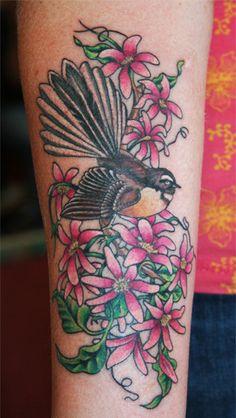 Fantail tattoo