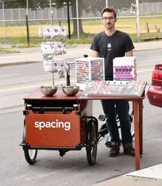 The Spacing Cargo Bike Shop on Wheels