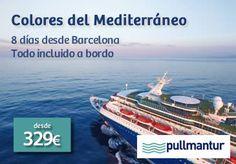 Cruceros Logitravel.com desde 89 €. Mediterráneo, Fiordos, ofertas Pullmantur y Costa Cruceros