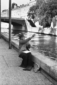 Henri Cartier-Bresson - Paris, 1969.