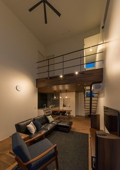 Metro Interior Design for Office Spaces « Sayo Style At Home, Japan Modern House, Niche Decor, Minimal House Design, Living Room Goals, Beautiful Houses Interior, Loft Spaces, Office Spaces, Loft Design