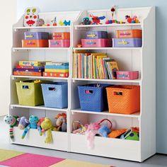 54 Enchanting Toy Storage Design Ideas For 2019 - Kinder Ideen Childrens Toy Storage, Diy Toy Storage, Kids Storage, Storage Ideas, Storage Design, Small Storage, Makeup Storage, Storage Solutions, Kids Bedroom Storage
