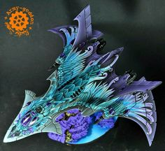 Spikey Bits Warhammer 40k, Fantasy, Conversions and Painted Miniatures: Bird of Prey - Army of One