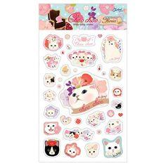 Jetoy Choo Choo Bling Floria Stickers (◕ᴥ◕) Kawaii Panda - Making Life Cuter