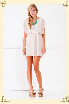 "$44 Francesca's ""Miami Dress"""