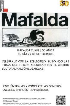 Celebramos el 50 Aniversario de #Mafalda