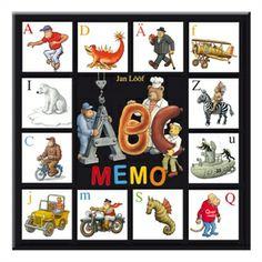 ABC memo - Memory med bokstavskort. Para ihop små och stora bokstäver. Memospel som övar arbetsminnet. Memories, Baseball Cards, Comics, Decor, Art, Memoirs, Art Background, Souvenirs, Decoration