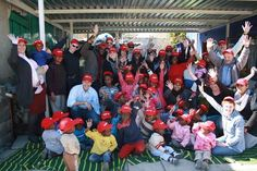 Sampson de Villiers volunteering at Alex Crèche in Johannesburg. Charity, Wrestling, Organization, In This Moment, Feelings, Day, Celebrities, Inspiration, Clothes