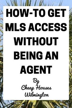 Getting MLS access is a very powerful too for investors. Imagine being able to see what's going on in a market with the powerful software tools that real-estate agents have access to! Well now you can because I'm going to explain how to get access: Real Estate Business, Real Estate Investor, Real Estate Marketing, Online Real Estate, Real Estate Tips, Mls Real Estate, Real Estate Courses, Wholesale Real Estate, Real Estate Training