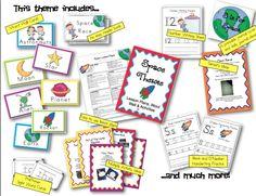 One Week Preschool Space theme