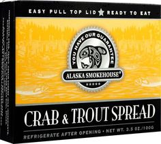 Alaska Smokehouse Crab & Trout Spread Totem Design, 3.5 Ounce Boxes (Pack of 6) - http://www.yourgourmetgifts.com/alaska-smokehouse-crab-trout-spread-totem-design-3-5-ounce-boxes-pack-of-6/