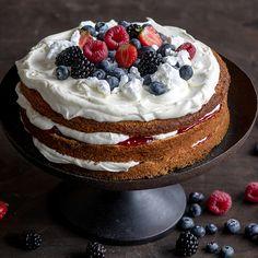 Hyvä perusohje täytekakkupohjaan Desserts, Food, Tailgate Desserts, Deserts, Essen, Postres, Meals, Dessert, Yemek