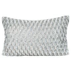 Pompano Silver Decorative Pillow. #laylagrayce #new #pillow  #laylagrayce and #bunnywilliamshome
