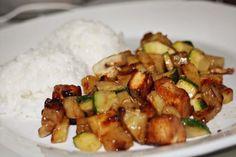 no soup for you: Tofu Com Batata-Doce, Curgete e Cogumelos