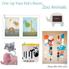 Some cute Zoo finds for you little ones room