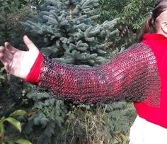 chainmail sleeves Chain Mail, Rubber Rain Boots, Sleeves, Shoes, Fashion, Moda, Zapatos, Chain Letter, Shoes Outlet