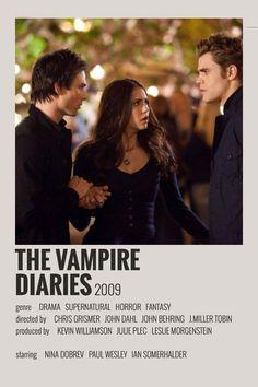 design poster Alternative Minimalist Movie/Show Polaroid Poster - The Vampire Diaries Iconic Movie Posters, Minimal Movie Posters, Minimal Poster, Iconic Movies, Film Polaroid, Polaroids, Film Poster Design, Poster Art, Poster Layout