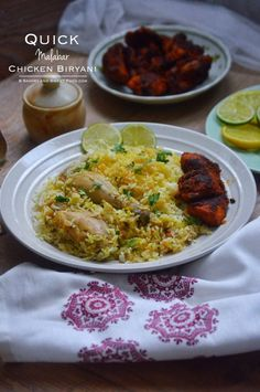 Malabar Chicken Biryani (Quick Version) - Savory&SweetFood