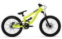 Trail Tech: Real mountain bikes for kids 20 Wheels, Downhill Bike, Kids Bike, Bicycle Design, Mtb, Mountain Biking, Supreme, Neon Yellow, Kid Stuff