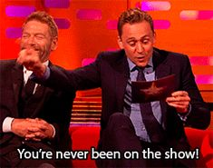 Tom Hiddleston Impersonates Graham and It's Amazing - The Graham Norton Show https://www.youtube.com/watch?v=zzqWPDnYEik
