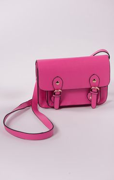 Hot pink bag. Love it ♥