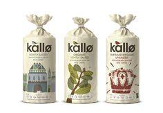 Graphic Design Inspiration #branding #packaging #rice #cakes #amazing #logo #illustrations