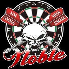 Custom #darts design for Brady Noble