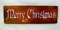 Merry Christmas Sign, Merry Christmas, Wood Sign, Wall Hanging, Holiday Decor, Reclaimed Wood Sign, Holidays, Christmas Decor, Gift, Rustic