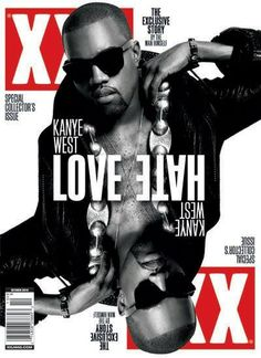 Kanye West wearing SUPER Classics on the cover of XXL Magazine
