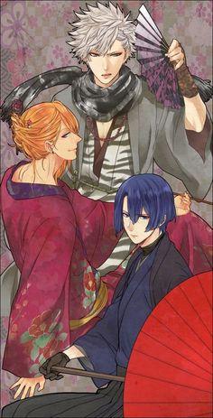 Uta no Prince-sama - Ranmaru, Ren and Masato