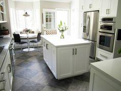 fresh idea to design your image of tile ideas for kitchen - White Kitchen Floor Tile Ideas