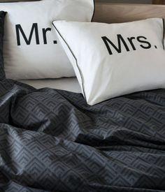 Putevar med teksttrykk | Hvit/Mrs | Home | H&M NO
