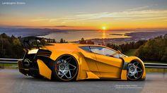 Lamborghini SINISTRO by Thebian Concepts by mcmercslr.deviantart.com on @DeviantArt